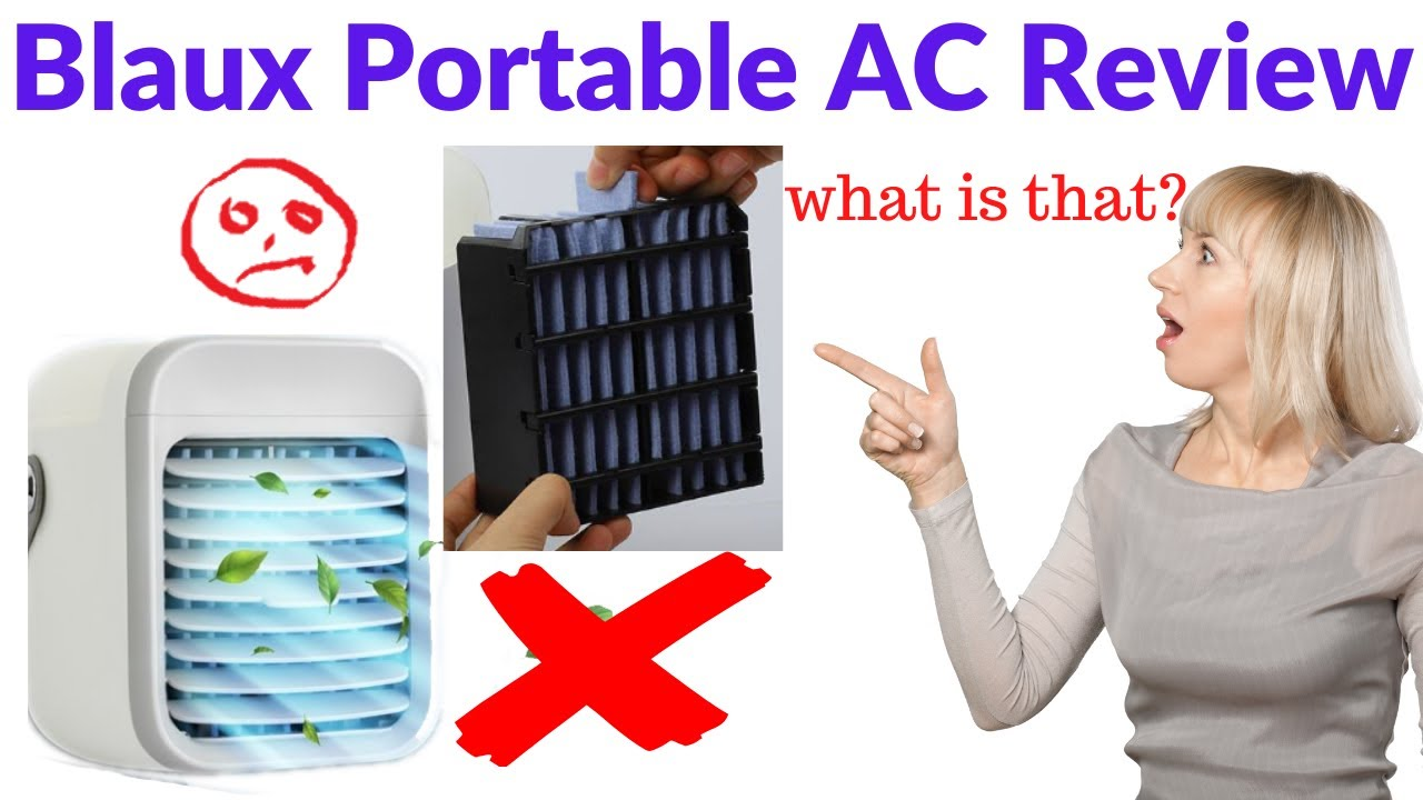 Blaux Portable AC Review Exposed Does It Really Blow Cold ...