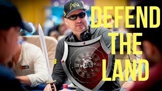 Phil Hellmuth's New Hashtag #WarriorInTheArena