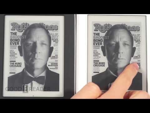 Barnes & Noble Nook Glowlight vs Nook Simple Touch with Glowlight