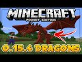 MINECRAFT PE 0.15.4 - DRAGONS IN MCPE 0.15.4?! (Orespawn Mod) - Minecraft PE (Pocket Edition)
