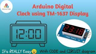 Arduino Digital Clock using TM-1637 Display || VIKRAM TECH screenshot 4