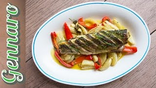Grey Mullet With Red Pepper | Gennaro Contaldo