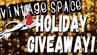 Great Big Vintage Space Holiday Giveaway!