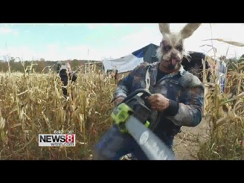 Cruisin' Connecticut – Frightening Nightmare Corn Maze in Glastonbury