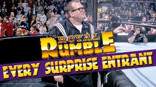 EVERY Surprise Entrant In WWE Royal Rumble History! (All 36)