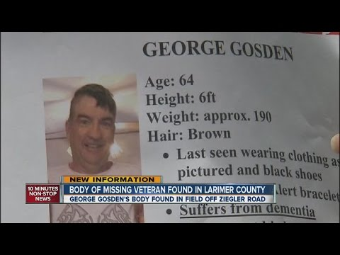 Missing man found dead, coroner confirms