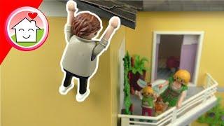 Playmobil Film - Familie Hauser und das Loch im Dach - Spielzeug Video für Kinder