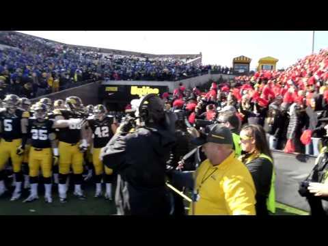 Iowa Football Tunnel Walk on YouTube