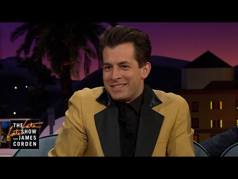 Mark Ronson Bailed on Meeting Stevie Wonder