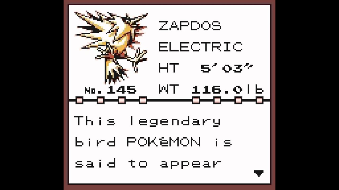 Pokemon Yellow Version - Catching All Legendaries
