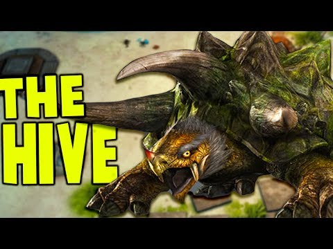 The Hive – TURTLE BOSS & OVER POWERED DINOSAUR LIZARD – The Hive Gameplay