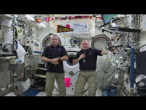 Space Station Crew Discusses Life in Space with Massachusetts Media
