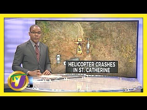 JDF Aircraft Makes Emergency Landing in St. Catherine, Jamaica | TVJ News - June 9 2021