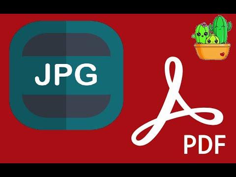 JPG a PDF (I Love PDF)
