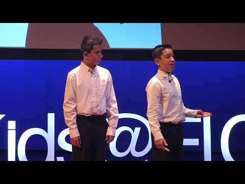 Choose Positivity | Jayden Garmo & Preston Garmo | TEDxKids@ElCajon