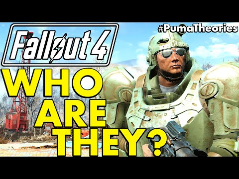Fallout 4: Who Are the Gunners? Lore and a Theory #PumaTheories