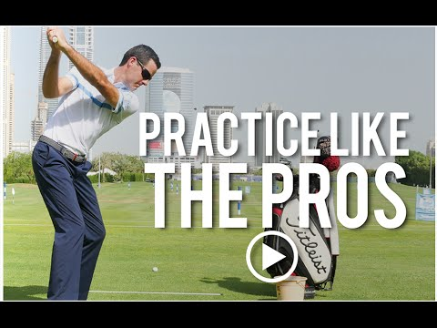 Practice like the Golf Pros
