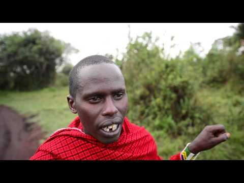 Real people: Conversation with Baraka a Maasai from the Ngorongoro highlands