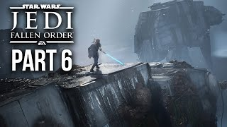 Star Wars Jedi Fallen Order Gameplay Walkthrough Part 6 - AT-AT (Full Game)