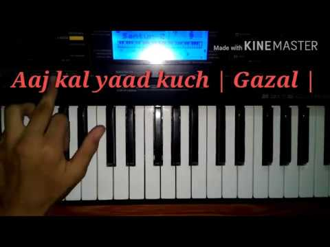 aaj-kal-yaad-kuch-piano-tutorial-musical-keyboard