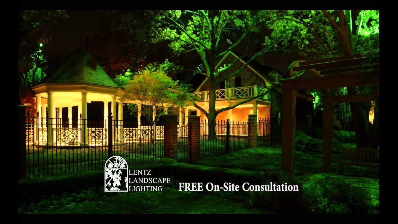 Lentz landscape lighting commercial youtube aloadofball Image collections