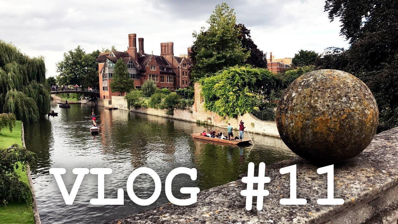 Klimatyczne miasteczko, czyli Cambridge | Vlog #11