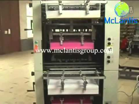 Sheet-fed Bill Collating And Numbering Machine