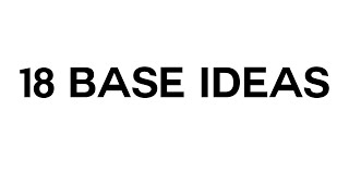 Minecraft | 18 base ideas