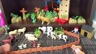 Домашние Животные на ферме; Какие звуки издают