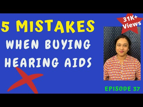 Top 5 mistakes when buying hearing aids in 2020/Things to know when buying Hearing aids