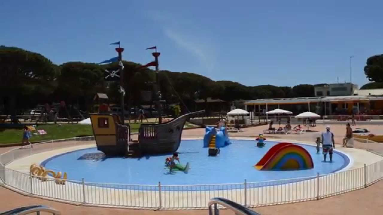 Camping do ana complejo de piscinas youtube for Piscinas huesca