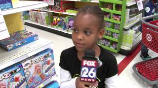 """6-year-old TV Reporter - """"This thing on?"""""""