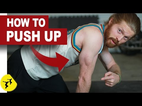 4 Methods to Build up to a Push-Up