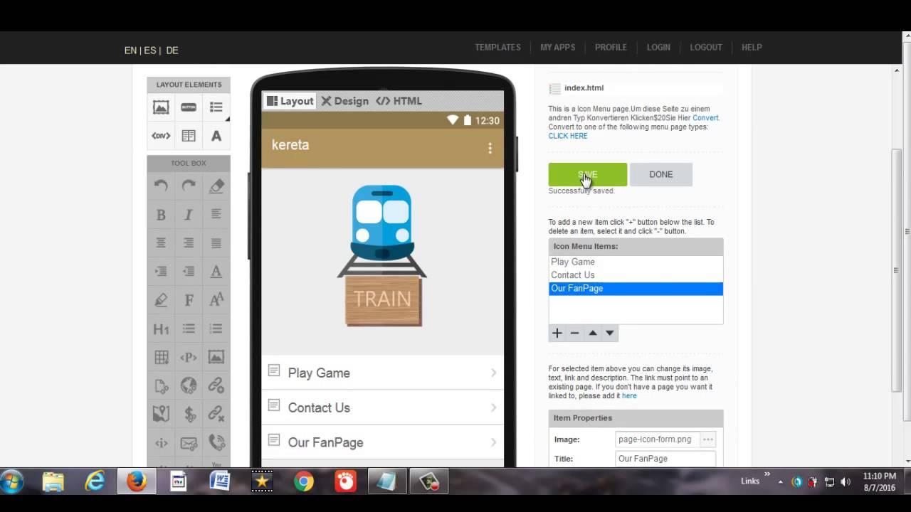 Tutorial Bikin Aplikasi-Game Android -IOS-Kindle Tanpa Coding ...