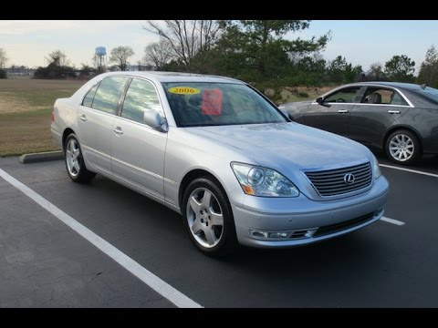 2006 lexus ls430 full tour & start-up at massey toyota - youtube