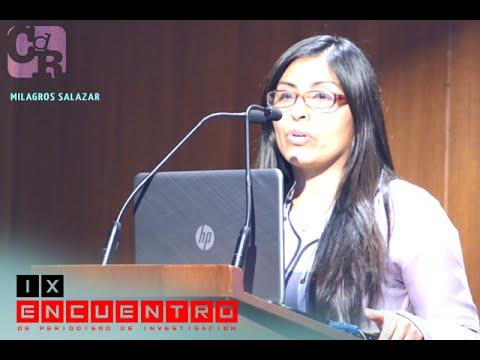 Milagros Salazar en Panel: Conociendo los retos que el medio ambiente le impone al periodismo