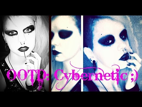 Outfit Of The Day: Cybernetic ;) | Astrid Aesthetic