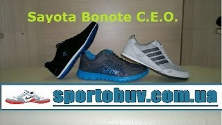 Видео обзор кроссовок Sayota  Bonote  C E O