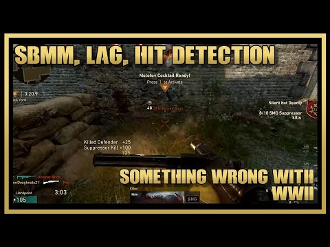 how to fix lag compensation for call of duty ww2