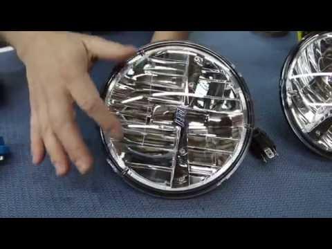 How To Install a LED Headlight Set and Heavy-Duty Headlight Harness - Kevin Tetz With LMC Truck