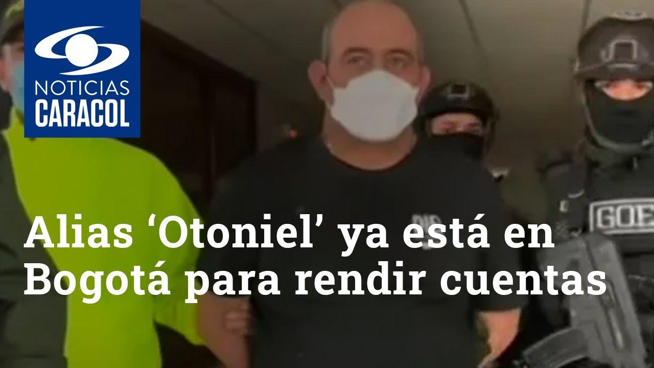 Download Alias 'Otoniel' ya está en Bogotá para rendir cuentas ante la justicia