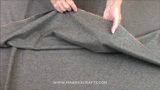 Italian Wool & Cashmere Blend Suiting Dress Fabric