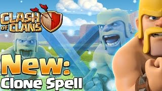 NEW SPELL! CLONE! 4 SPELL COST = WORTH IT! :: Clash Of Clans :: Update Pt. 2