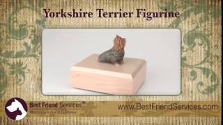 Yorkshire Terrier, Figurine Urn, Chanel Bridget