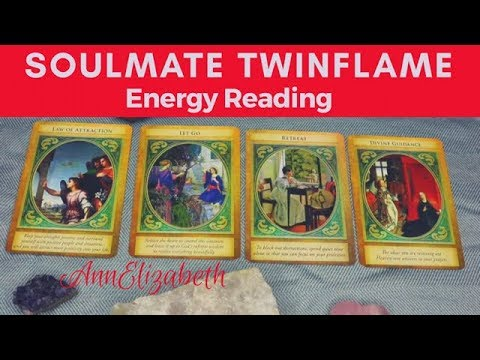 Soulmate Twinflames Energy Reading ~ 11-19/17-Letting Go for New Love & Divine Union with Soulmates