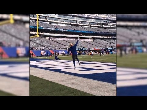 Odell Beckham Jr. creates sweet new windmill catch