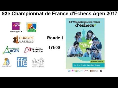 Championnat de France Agen 2017 - Ronde 1