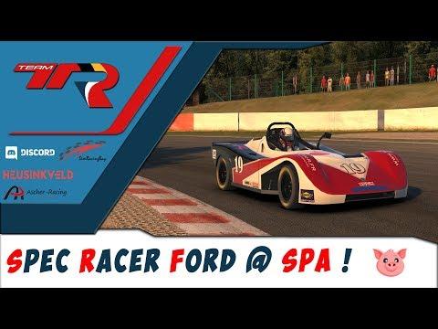 iRacing - Spec Racer Ford @ Spa   Petit moteur, grand plaisir