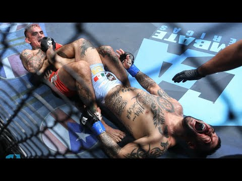 Ricardo Arreola Vs Emmanuel Rivero Full Fight | MMA | Combate Monterrey