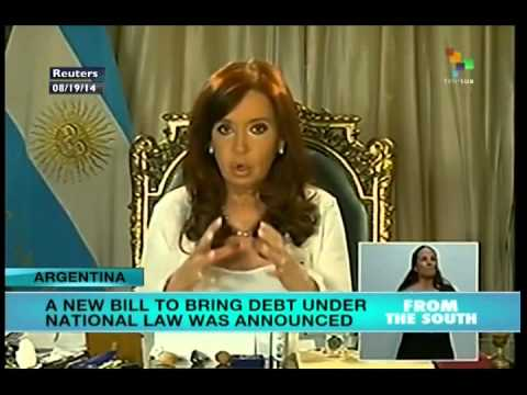 Bill to bring debt into law submitted to Argentine congress